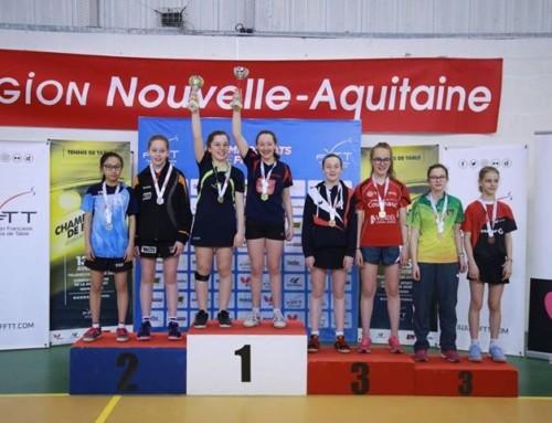 Championnats de France Minimes-Juniors – Les résultats