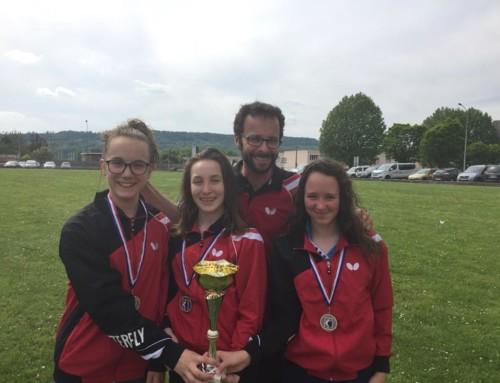 Championnats de France des Régions : Médaille d'argent pour les minimes Filles