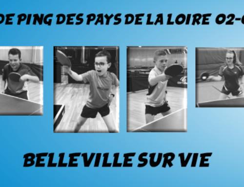 Grand Prix de Ping des Pays de la Loire : Les résultats