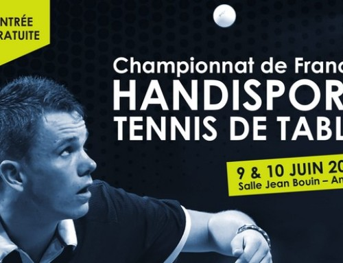 Championnat de France handisport – Angers – 9 & 10 juin – 6 podiums