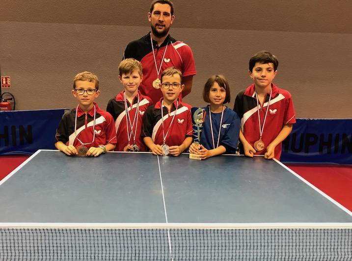 Mini Interligues 5 Medailles Pour Nos Jeunes Ligeriens Tennis