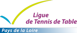 Tennis de table Ligue des Pays de la loire Logo