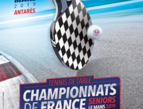 Championnat de France Senior – 1er au 3 mars 2019 – LE MANS