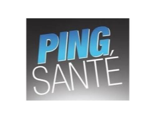 Communiqué Ping Santé