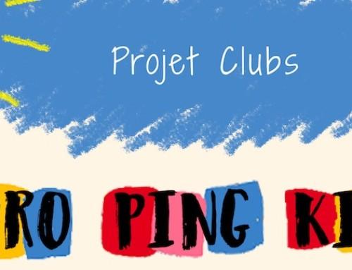 EURO PING KIDS, inscriptions clubs sont lancées