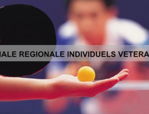 Finale Régionale individuels vétérans, les résultats