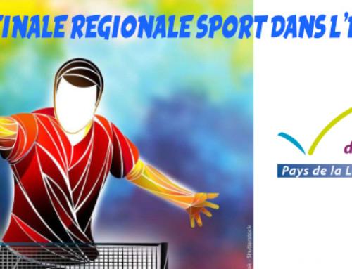 Finale Régionale Sport  dans l'Entreprise, les résultats