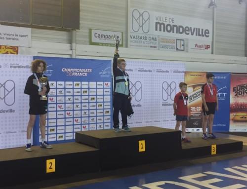 Antoine ATTIMON Médaillé de Bronze aux Frances Minines 2019