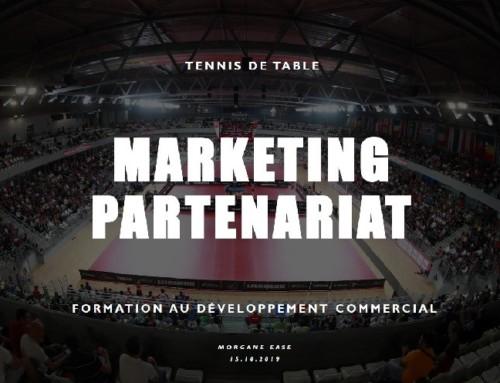 Formation en marketing et partenariat – les samedis 21 décembre 2019 et 14 mars 2020