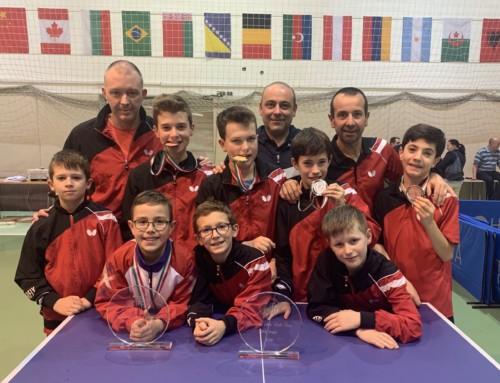 Internationaux  de Budapest : Une moisson de médailles pour notre Ligue