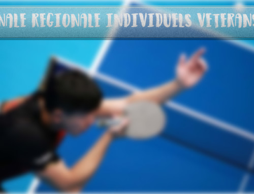 Finale Régionale individuels vétérans et Coupe nationale Vétérans, les inscriptions