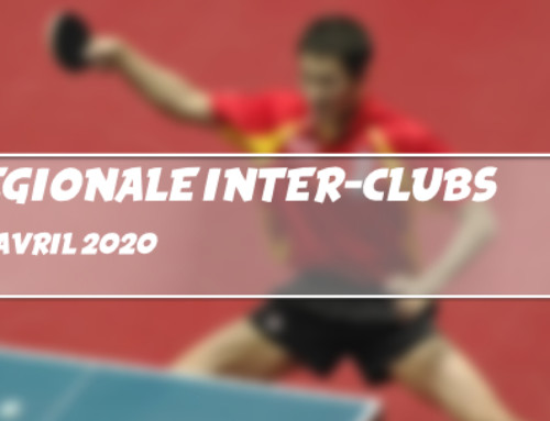 Annulation de la Coupe Régionale Inter-clubs