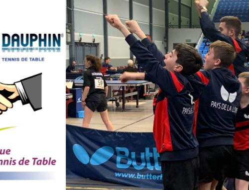 Partenariat Butterfly/Dauphin tennis de table