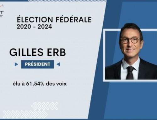 Gilles ERB, nouveau président de la F.F.T.T.