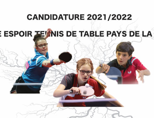 Candidature pôle espoir 2021/2022