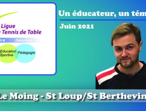 Un éducateur, un témoignage…Tristan Le Moing