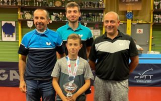 Axel Bossis vice-champion de France benjamin