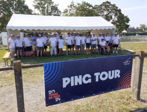 Le Ping Tour 2021 à Trélazé (49) en collaboration avec Terre de Jeux 2024