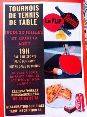 Affiche tournois Notre Dame de Mont