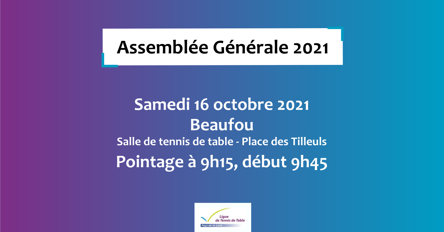 AG 2021 informations