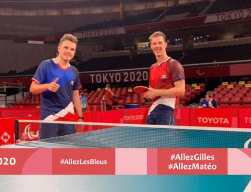 Début des Jeux Paralympiques pour Matéo Bohéas et Gilles de la Bourdonnaye