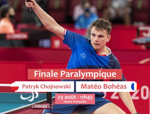 Une finale paralympique pour Matéo Bohéas ce dimanche à 11h45