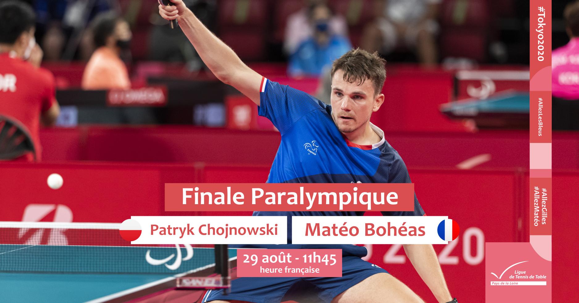 Matéo Bohéas en finale des Jeux Paralympiques