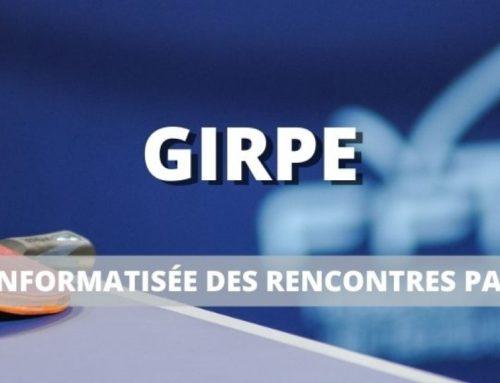 Mise à jour de GIRPE vers la version 7.4.0