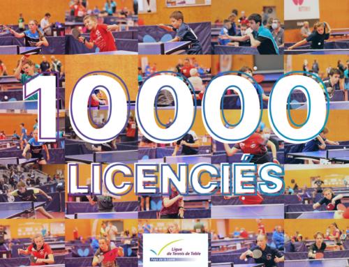 Les Pays de la Loire franchissent la barre des 10000 licenciés